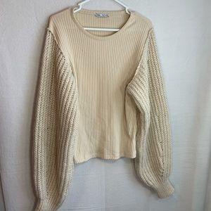 Zara Womans Sweater Top